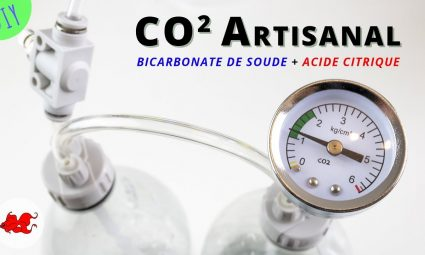 DIY CO2 Artisanal pour aquarium Bicarbonate de soude + Acide citrique