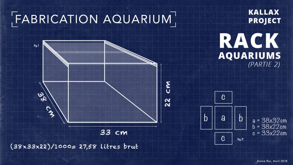Fabrication aquarium